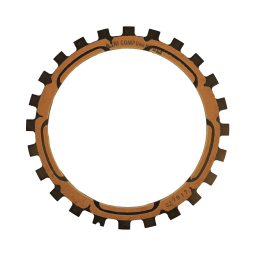 Torque-Converter Friction Plate, Tan,  ZF6HP26 2.7L ZF6HP19, 255mm, ZF6HP26 255mm