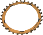Torque-Converter Friction Plate,  ZF6HP26 260mm, ZF6HP26 255mm, ZF6HP21, 245mm (LuK)